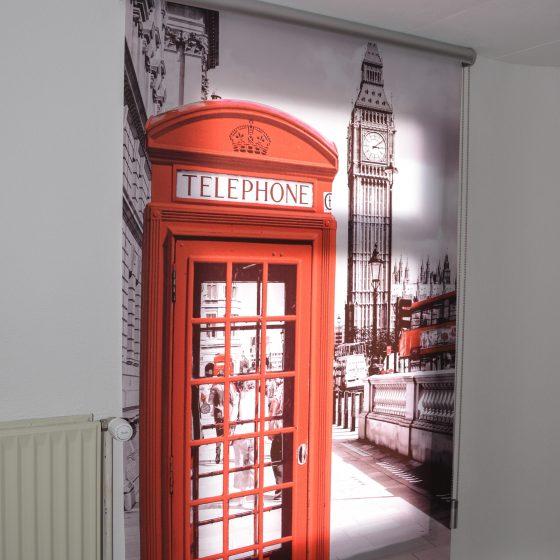 Store imprimé Londres