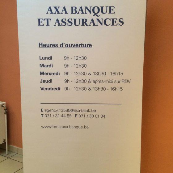 Horaires AXA